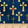 Three Kings Crosses Metallic Sapphire