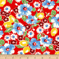 Sugar Sack Floral Red