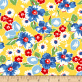 Sugar Sack Large Floral Yellow