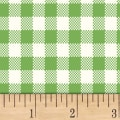 Sugar Sack Gingham Check Green