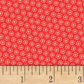 Sugar Sack Daisy Dot Red