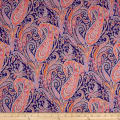 Liberty Fabrics Tana Lawn Felix and Isabelle Purple
