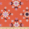 Cotton + Steel Welsummer Florametry Sweet Orange