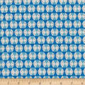 Cotton + Steel Welsummer Chicken Wire Bright Blue