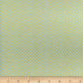 Cotton + Steel Rifle Paper Co Metallic Amalfi Checkers Mint