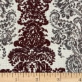 Abbey Shea Elegance Jacquard Boysenberry