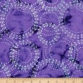 Blossom Batiks Splash Laurel Violet