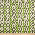Premier Prints Luxe Outdoor Sapo GreeneryBasketweave