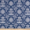 Premier Prints Spirit Slub Canvas Regal Navy
