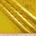 Iridescent Sequin Dot Mesh Gold