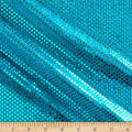 Iridescent Sequin Dot Mesh Turquoise