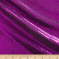 Iridescent Sequin Dot Mesh Purple