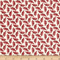 Maywood Studio The Little Things Variegated Leaves Natural/Red