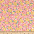 Nana Mae II 1930's Reproduction Large Daisy Pink/Yellow