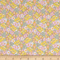 Nana Mae II 1930's Reproduction Packed Floral Yellow
