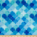 Just Beachy Large Layered Dots Blue