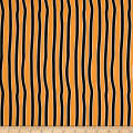 Chills & Thrills Wobbly Stripe Glow In The Dark Orange/Black