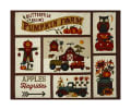 "Pumpkin Farm 35"" Autumn Farm Panel Cream"