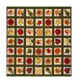 "Autumn Album 24"" Autumn Motif Blocks Green"