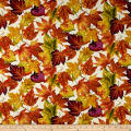 Autumn Album Tossed Leaves Cream