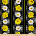 Kanvas Oops A Daisy Daisy Dotted Stripe Black