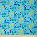 Contempo  Modern Marks Modern Marks Turquoise