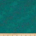 Contempo  Dot Crazy Maze Teal