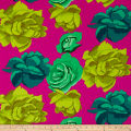 Kaffe Fassett Fall 2017 Rose Clouds Magenta