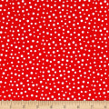 Susybee Irregular Dot Red