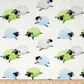 Susybee Lewe the Ewe Leaping Sheep White/Blue