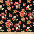 Laura Ashley The Gosford Park Fired Earth Bouquet Black