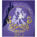 "Disney Princess Heart Strong Dream Big 36"" Panel Multi"