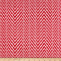 Arrow Herringbone FlannelRuby