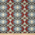 Artistry Tribal Southwest Snake River Jacquard Chambray