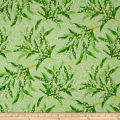 Maywood Studio Greenery Lily Of The Valley Green