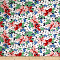 Maywood Studio Hi-de-Ho Large Floral Navy/Red