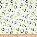Maywood Studio Hi-de-Ho Oval Flowers Green