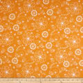 Maywood Studio Kimberbell Lil' Sprout Flannel Too! Doodles Orange