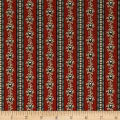 Paula Barnes Bristle Creek Farmhouse Homestead Stripe Red
