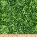 Sarah J Sea Batiks Green