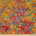 Jewel Box Batiks Butterfly Org/Yllw/Pnk