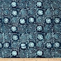 Blue Bazaar Batik Patchwork Blue