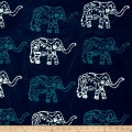 Blue Bazaar Batik Large Elephant Blue
