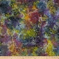 Scroll Batik Purple/Brown/Yellow
