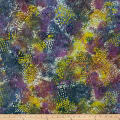 Triangle Patch Batik Purple/Brown/Yellow