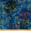 Random Geo Batik Print Purple/Blue/Green/Yellow