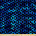 Batik Small Stripe Blue/Purple