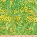 Wilmington Batiks Floating Leaves Green/Yellow
