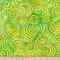 Wilmington Batiks Drifting Leaves Green/Yellow