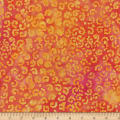 Wilmington Batiks Whimsical Curls Orange